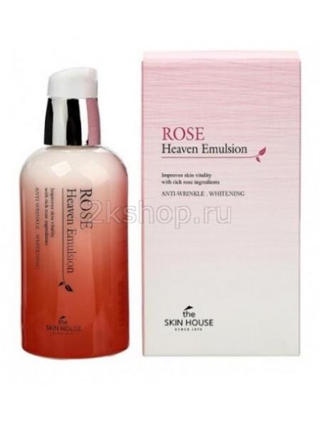 Питательная эмульсия с экстрактом розы The Skin House Rose Heaven Emulsion