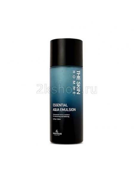 The Skin House Homme Essential Aqua Emulsion Увлажняющая эмульсия для мужчин