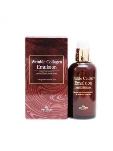 Антивозрастная эмульсия с коллагеном The Skin House Wrinkle collagen emulsion