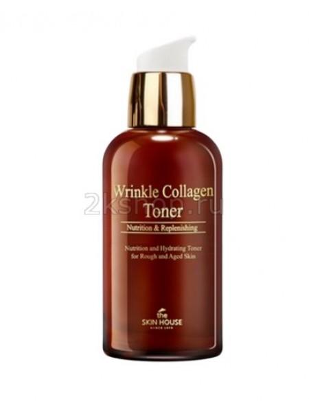 The Skin House Wrinkle collagen toner  Антивозрастной тонер с коллагеном