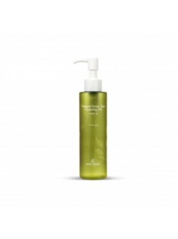 Гидрофильное масло с экстрактом зелёного чая The Skin House Natural Green Tea Cleansing Oil