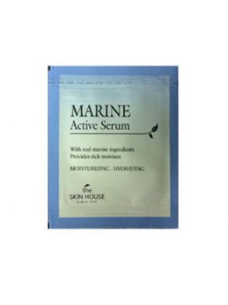 The Skin House Marine Active Serum  Sample Пробник сыворотка для лица с морской водой и керамидами