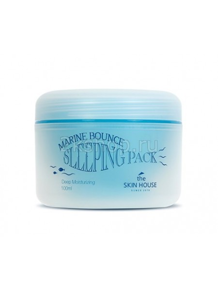 Ночная маска с морским коллагеном The Skin House Marine Bounce Sleeping pack