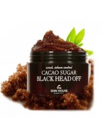 The Skin House Сacao Sugar Black Head Off Скраб против черных точек с коричневым сахаром и какао