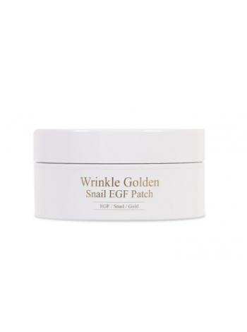 The Skin House Wrinkle Golden Snail EGF Patch Гидрогелевые патчи с EGF, золотом и муцином улитки