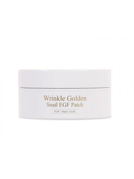 Патчи с EGF, золотом и муцином улитки The Skin House Wrinkle Golden Snail EGF Patch  60 шт.