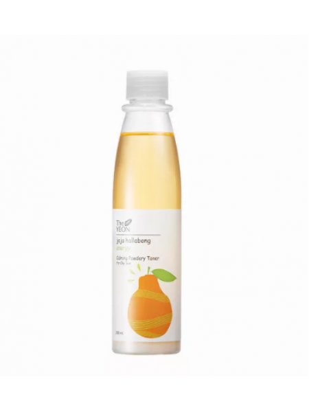 The YEON Jeju Hallabong Energy Calming Powdery Toner for Oily Skin Успокаивающий тонер для жирной кожи