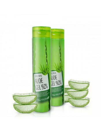 The YEON  10 in 1 Real Aloe Gel 92% Универсальный гель с экстрактом алоэ 10 в 1