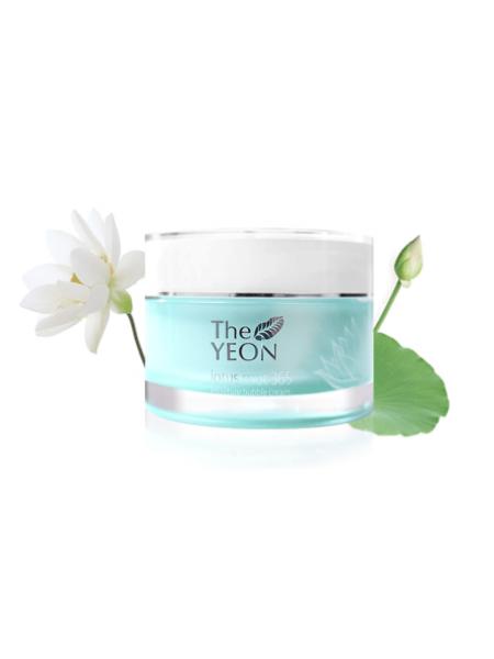 The YEON Lotus Roots 365 Moisture Bubble Cream Кислородный увлажняющий крем для лица