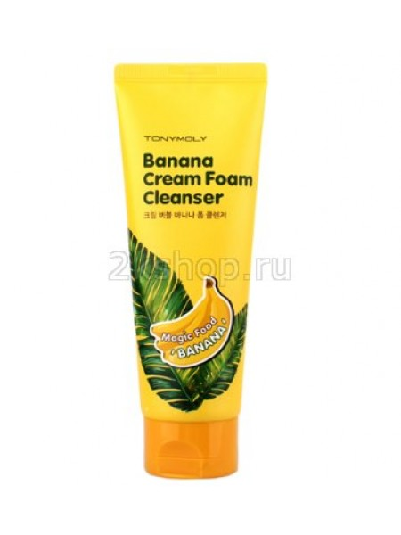 Tony Moly  Magic Food Banana Peeling Cream  Пилинг-крем для лица с экстрактом банана