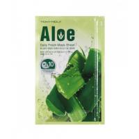 Tony Moly Daily Fresh Mask Sheet Aloe Набор масок с экстрактом алоэ