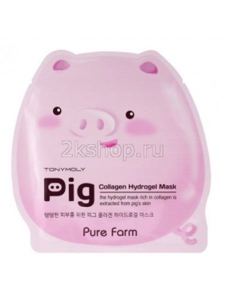 Tony Moly Pure Farm Pig Collagen Mask Маска с коллагеном
