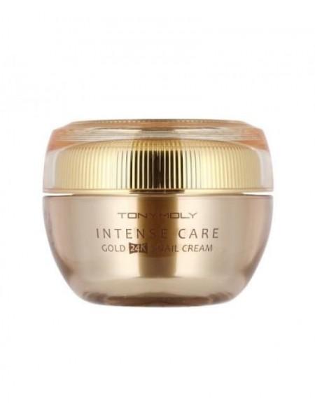 Tony Moly Gold 24K Snail Cream  Улиточный крем для лица