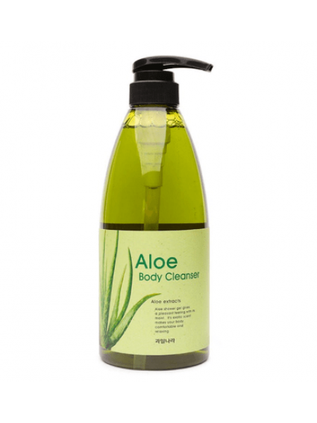 Гель для душа с алоэ Kwailnara Aloe Body Cleanser