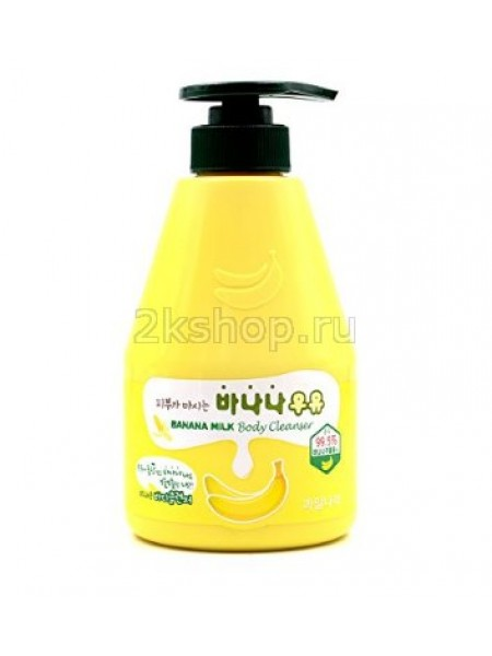 Kwailnara Banana Milk Body Cleanser  Гель для душа банановый
