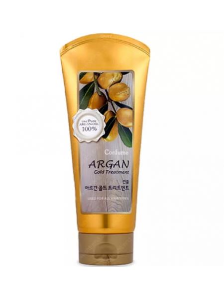 Маска для волос с маслом арганы и золотом Confume Argan Gold Treatment