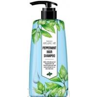 Around me peppermint Hair Shampoo  Шампунь для волос с  перечной мятой