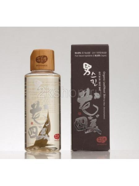 Whamisa Organic Leaf & Root Skin toner Мужской тонер для лица