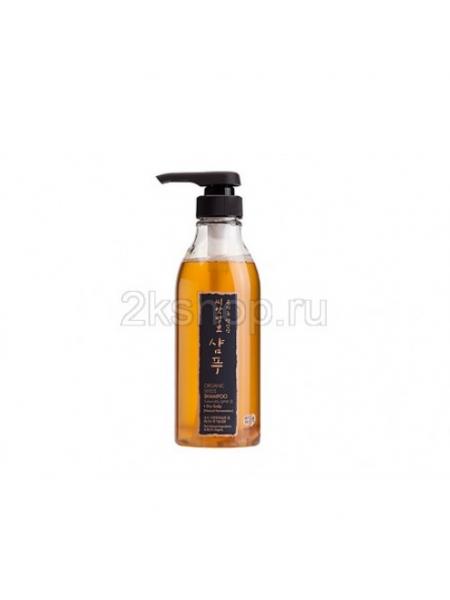 Шампунь для сухих волос и кожи головы на основе органических семян Whamisa  Organic Seeds Shampoo - Dry Scalp