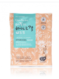 Whamisa Organic Flowers Hydrogel Mask (Natural Fermentation) Гидрогелевая маска для лица на основе цветочных ферментов