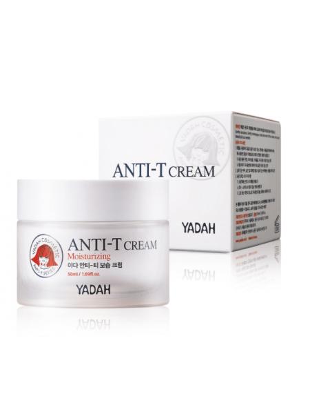 Увлажняющий крем для жирной кожи лица Yadah AntiI-T Moisturizing Cream