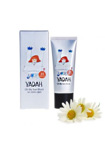 Yadah Oh My Sun Block SPF 35/PA+++  Солнцезащитный крем SPF 35/PA+++