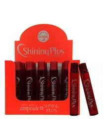 Bosnic Shining Plus Ампульное средство с кератином,аминокислотами и коллагеном для сияния волос