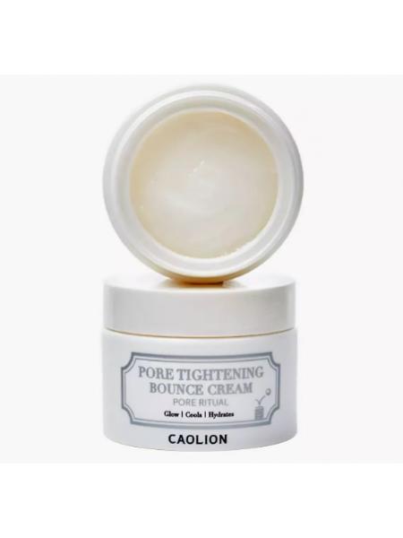 Caolion Pore Tightening Bounce Cream Крем для сужения пор