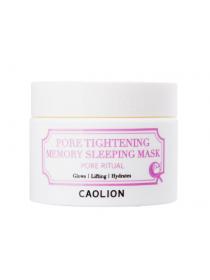 Caolion Pore Tightening Memory Sleeping Mask  Ночная поросуживающая маска для лица