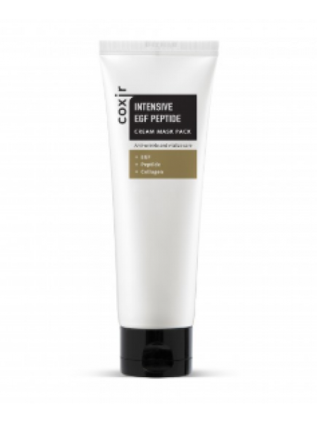 COXIR Intensive EGF Peptide Cream Mask Pack Маска с пептидами и EGF  для регенерации кожи