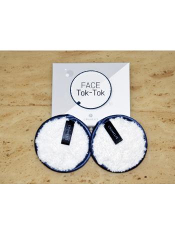 Crumelis Face Tok Tok Косметический спонж  для простого  и легкого очищения кожи