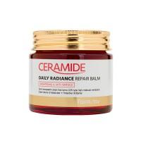 Восстанавливающий  крем-бальзам с керамидами  FarmStay Ceramide Daily Radiance Repair Balm