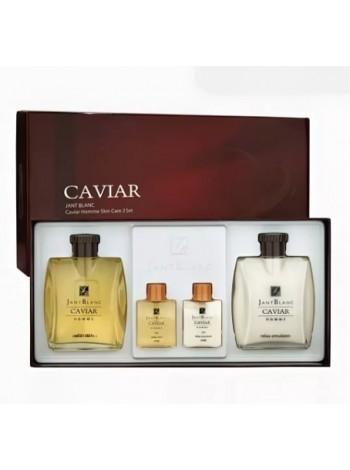 Набор Jant Blanc для мужской кожи Черная Икра скин/эмульсия - Caviar Homme Skin Care 2 Set