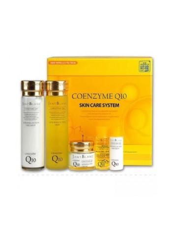 Набор для лица Jant Blanc с коэнзимом Q10 Coenzyme Q10 Skin Care System тоник/эмульсия/крем