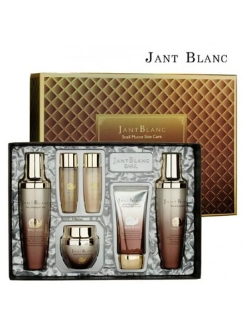 Подарочный набор косметики с  экстрактом улитки  JANT BLANC Snail Mucus Skin Care 4 Set