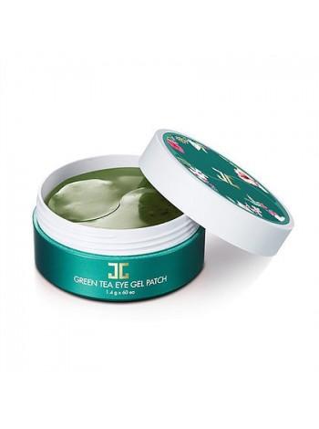 JAYJUN Cosmetic Green Tea Eye Gel Patch Гидрогелевые патчи с зеленым чаем