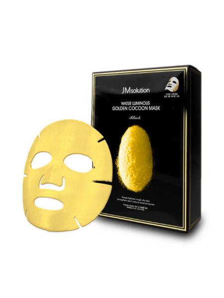 Моделирующая маска с протеинами золотого шелкопряда JMsolution Golden Cocoon Home Esthetic Modeling Mask