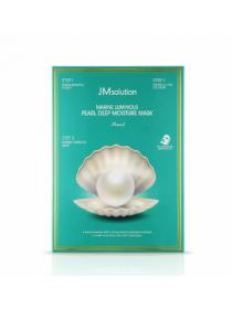 JMsolution Marine Luminous Pearl Deep Moisture Mask Трех ступенчатая увлажняющая маска с жемчугом