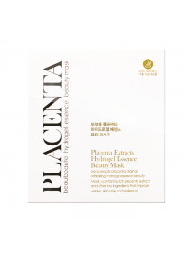 Beau Beaute Placenta Extracts Hydrogel Essence  Beauty Mask  Гидрогелевая маска для лица Плацента