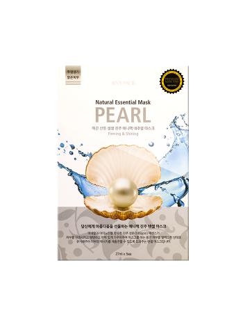 Anypack Natural Essential Mask Pearl Тканевая маска для лица Жемчуг