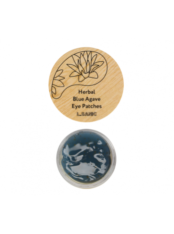 L.Sanic Herbal Blue Agave Hydrogel Eye Patches Гидрогелевые патчи с экстрактом голубой агавы