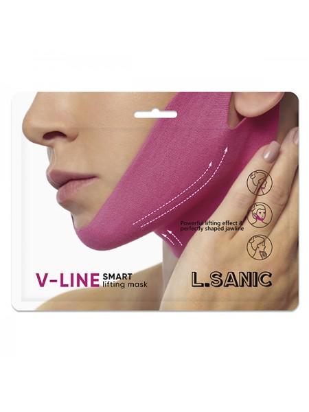Маска для подтяжки овала лица  L.SANIC V-Line Smart Lifting Mask