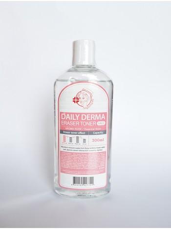 NIGHTINGALE Dayly Derma Eraser Toner Aromat Rose Мягкий тонер-пилинг с розой