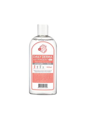 NIGHTINGALE Dayly Derma Eraser Toner Astringent Peach Мягкий тонер-пилинг с персиком
