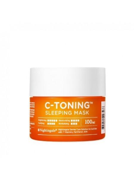 NIGHTINGALE C-Toning Sleeping Mask Ночная маска с витамином С