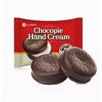 Крем для рук печенье со сливками The Saem Chocopie Hand Cream Cookies & Cream