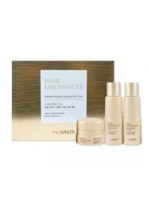 Набор уходовый антивозрастной (миниатюры) The Saem Snail Essential Ex Wrinkle Solution Special Gift 3 Set