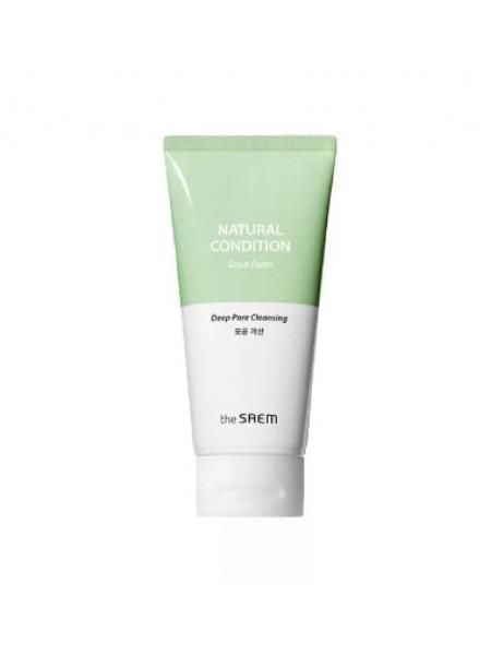 Пенка для умывания жирной кожи The Saem Natural Condition Cleansing Foam Sebum Controlling