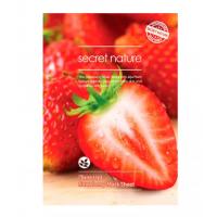 Secret Nature Strawberry Mask Sheet [Tone Up] Тонизирующая маска для лица с клубникой