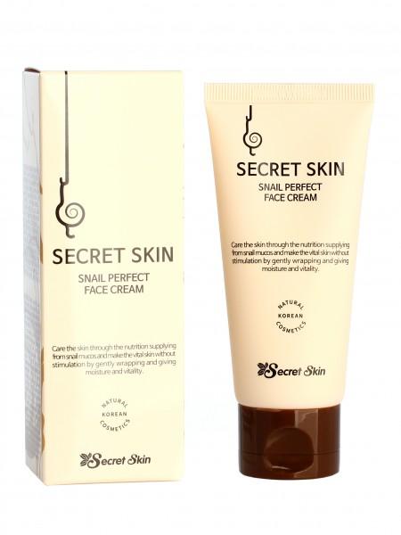Secret Skin Snail Perfect Face Cream  Крем для лица с экстрактом улитки
